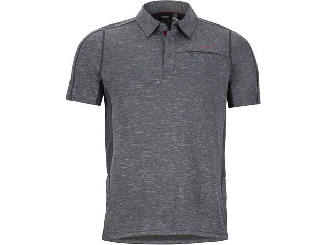 Marmot Drake Kurzarm Polo Herren slate grey